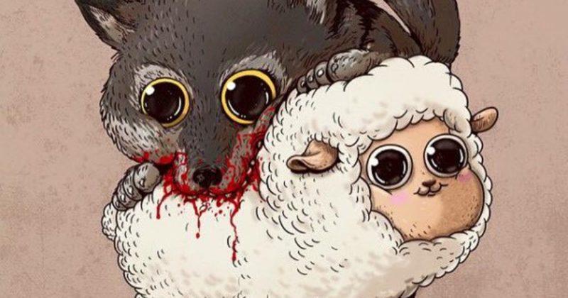 Weird Animals Art 10